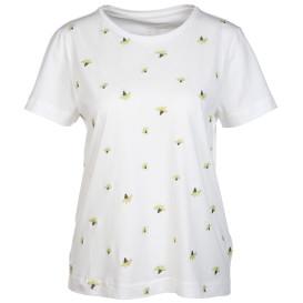Damen T-Shirt mit Minimalstickerei