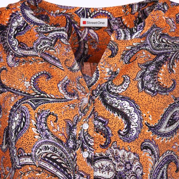 Damen Bluse mit effektvollem Muster