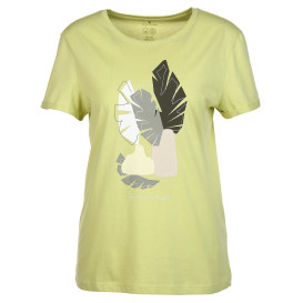 Damen Shirt mit abstraktem Print