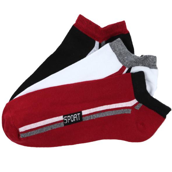 Herren Sneaker Socken im 3er Pack