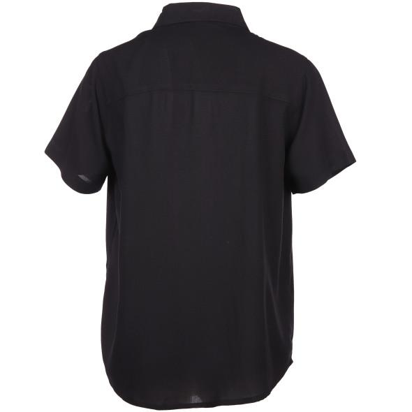 Damen Bluse mit verdeckter Knopfleiste