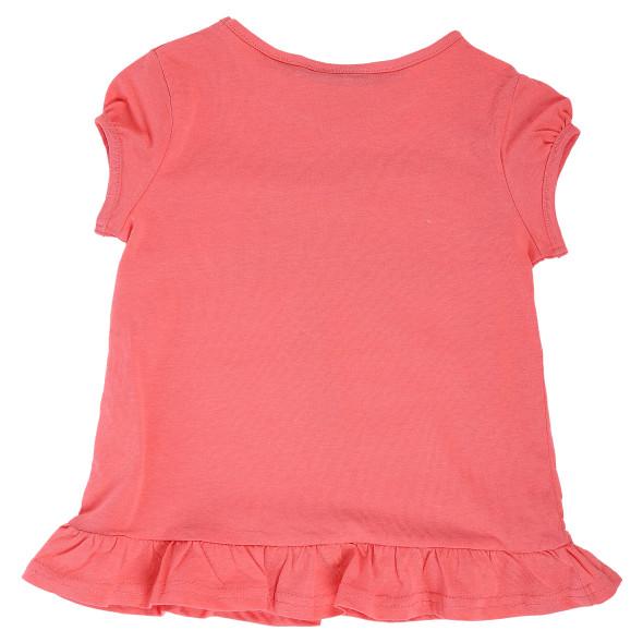 Mädchen Shirt mit Paillettenmotiv