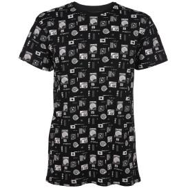 Herren Shirt mit Alloverprint