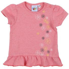 Baby Mädchen Shirt mit Volantabschluss