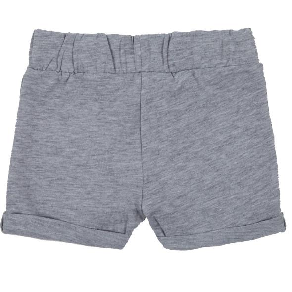 Baby Shorts in melierter Optik