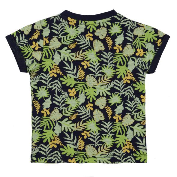 Baby Jungen-Shirt mit Alloverprint
