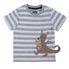Baby Shirt mit Streifen und Appliaktion