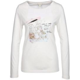 Damen Shirt mit Print und langen Ärmeln