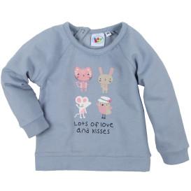 Baby Mädchen Sweatshirt mit Frontprint