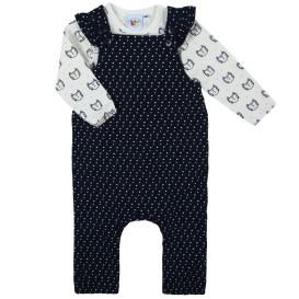 Baby Mädchen 2 Teiler bestehend aus Shirt und Strampler