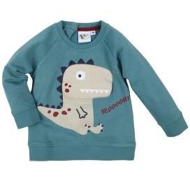 Baby Jungen Sweatshirt mit Frontprint