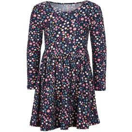 Mädchen Kleid mit Alloverprint