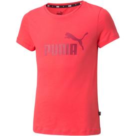 Mädchen Sportshirt mit Logoprint