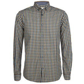 Herren Freizeithemd mit Button-Down-Kragen