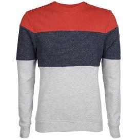 Herren Sweatshirt mit Colorblocking