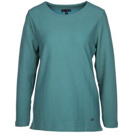 Damen Jaquard Sweatshirt mit Struktur