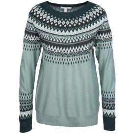 Damen Pullover im Norweger Look