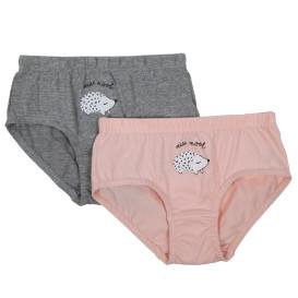 Mädchen Unterhosen im 2er Pack mit kleinem Print