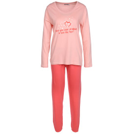 Damen Pyjama in langer Form