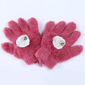 Baby Mädchen Handschuhe mit Applikation