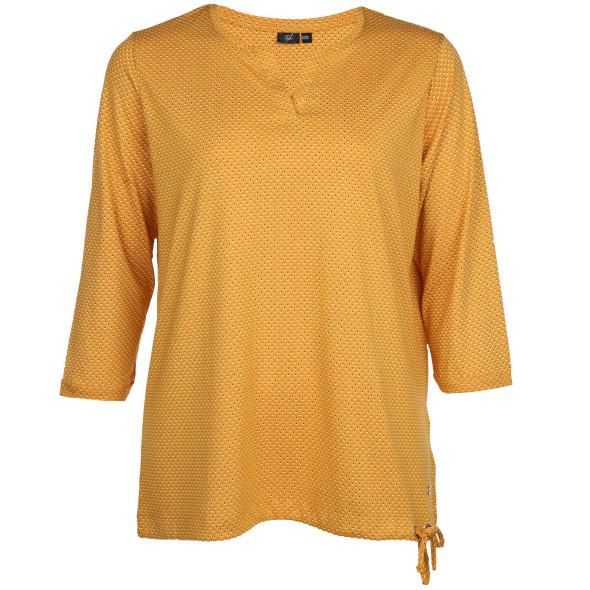 Große Größen Shirt mit 7/8 Ärmeln