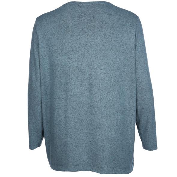 Große Größen Flausch-Shirt